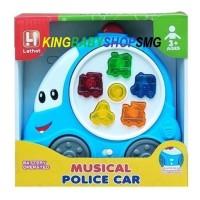 Piano Musical Police Car 5035