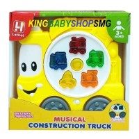 Piano Musical Construction Truck 5033