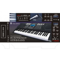 Original TECHNO T-9890SD Keyboard 61 Keys with 16 Channels and USB