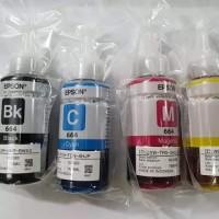 Tinta Epson 664 losepack black dan colour Original