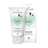 Attitude Blooming Belly Natural Cream for Tired Legs 150ml - Mint