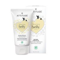 Attitude Blooming Belly Natural Stretch Oil 150ml - Almond & Argan