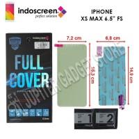 iPhone Xs Max Indoscreen Anti Gores Full Cover Full Set - ORI