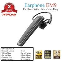 Mpow EM9 Original Bluetooth Wireless Earphone Noise Cancelling MPBH230