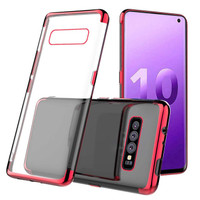 Softcase Shiny Transparant Soft Case Cover Casing Samsung Galaxy S10