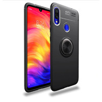 Softcase Invisible RING Soft Case Cover Casing Xiaomi Redmi Note 7