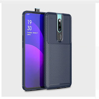 Softcase Slim Autofocus Carbon Soft Case Cover Casing Oppo F11 Pro