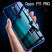 Softcase Shiny Clear Transparant Soft Case Cover Casing Oppo F11 Pro