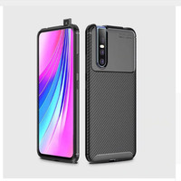 Softcase Slim Autofocus Carbon Soft Case Cover Casing Vivo V15 Pro