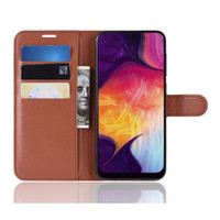 Flipcase PU Dompet Kulit Flip Case Cover Casing Samsung Galaxy A50