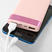 ROBOT RT150 POWERBANK LED PINK 10000mAh