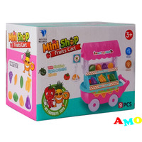 MINI SHOP FRUITS CART 9 PCS 6833