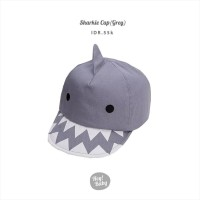 Hey Baby Sharkie Cap Grey