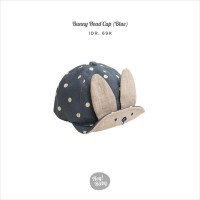 Hey Baby Bunny Head Cap Blue