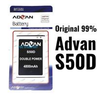 Baterai Original 99% Double Power Advan S50D - Batre Batere Baterei