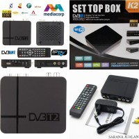 Best Support DVB-T2 K2 Set-top Box Sky Vision with Multimediaplayer X