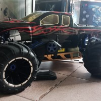 Rc Car Gasoline Hsp1/5 Monster Truck Second