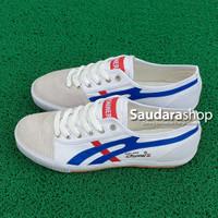 Sepatu Runner Putih lis Biru / Runner 797 Putih lis Biru [37-42]
