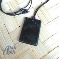 Kalung Blackjade Liontin Black Jade Batu Giok Hitam Asli Aceh