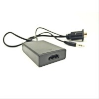 Best 50 New Converter KABEL VGA to HDMI Adaptor With Micro USB Power