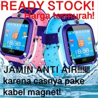 Best 50 Smartwatch Jam Tangan Anak Pintar Waterproof GPS Tracker Anti