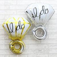 Balon Foil I do/ Balon Cincin I do/ Balon Lamaran/ Balon Bridal Shower