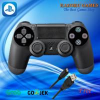 STICK PS4/DS4/CONTROLLER ORI PABRIK HITAM MURAH