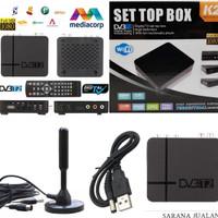 K2 - DVB T2 SET TOP BOX Siaran TV DIGITAL HD 3D WIFI (PAKET MOBIL)