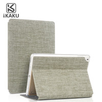 iKaKu iPad Mini 1 2 3 4 5 Premium Smart Flip Cover Fabric Denim Style