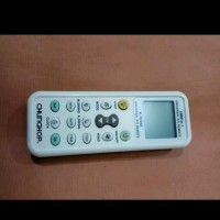 Remote Remot Rimot AC Merk Panasonic Sharp Changhong Sharp Toshiba T