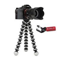 Gorillpod Large XL Gorilla Pod Tripod Gurita Stand Kamera DSLR + Holdr