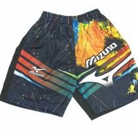 Celana mizuno-celana tenis olahraga mizuno hitam