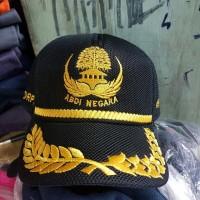 Topi kopri dwoble mask busa- topi abdi negara kopri pegawai negeri pns
