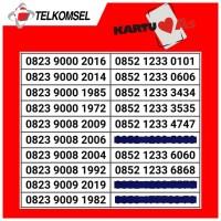 Kartu AS No TELKOMSEL Nomor Cantik No Simpati XL IM3 AXIS Indosat TRI
