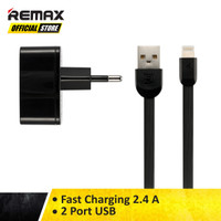 Remax Dual USB Charger And Data 2 Ports For Iphone RP-U215I Original
