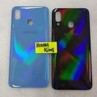 Back casing Samsung A20 / Tutup Casing belakang Samsung A20 2019