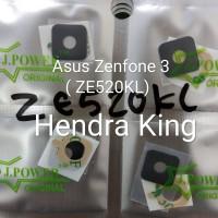 Kaca Kamera Asus zenfone 3 ZE520KL / Lensa Kamera Asus zenfone 3