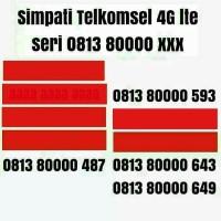 Kartu Perdana nomer cantik Simpati nomor Telkomsel 4G lte quartet 0000