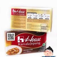 House Curry Sauce Mix- Bumbu Saus Kari lokal ala Jepang- 1 kg