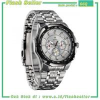 66Q Weide Jam Tangan Chrono Analog Pria - WH1010 - White/Silver