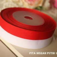 Pita Merah Putih 1 inch per Roll