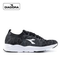 Sepatu Diadora Pria Savina Sports Sneakers Running Black Original