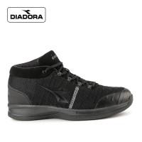 Sepatu Diadora Pria Bound Sports Sneakers Kasual Mono Black Original
