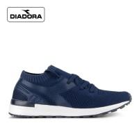 Sepatu Diadora Pria Ricow Sports Sneakers Kasual Navy Original