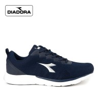 Sepatu Diadora Pria Savario Sports Sneakers Kasual Navy Original