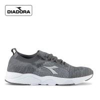 Sepatu Diadora Pria Savina Sports Sneakers Running Grey Original