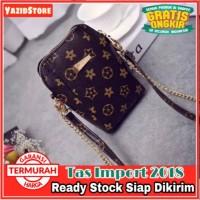 Tas Selempang Mini Tas HP dengan tali rantai Tas import