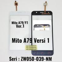 Original Touchscreen Mito Y1 / A79 Versi 1 -Kaca TS V1 Ver.1 Version 1