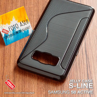 Soft Jelly Case Samsung S8 Active Softcase Silikon Casing Cover Gel