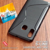 Soft Jelly Case Samsung A20 A30 Softcase Silicon Silikon Casing Cover